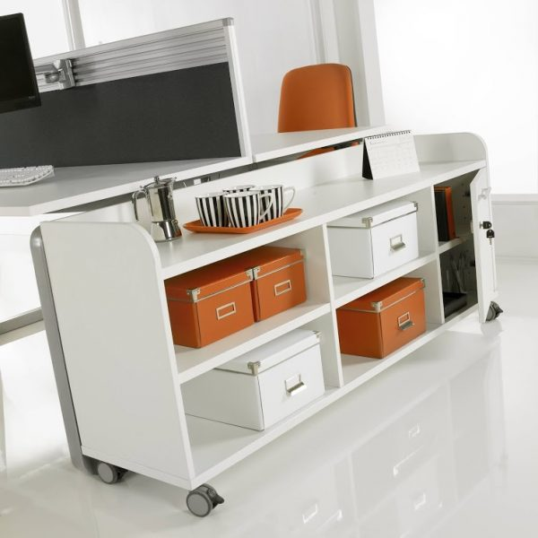 Underdesk Mobile Storage Unit