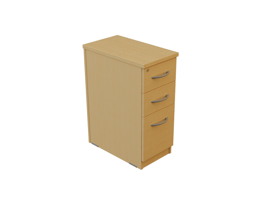 Narrow Pedestal : ... / Hawk Range / Hawk Pedestals / 600 Deep Narrow Desk High Pedestal