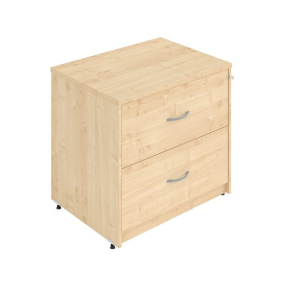 Side filer with 2 drawers