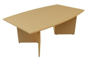 Boatshaped arrowhead meeting table