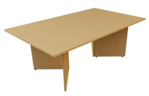 rectangle arrowhead meeting table