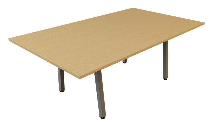 A frame rectangular meeting table