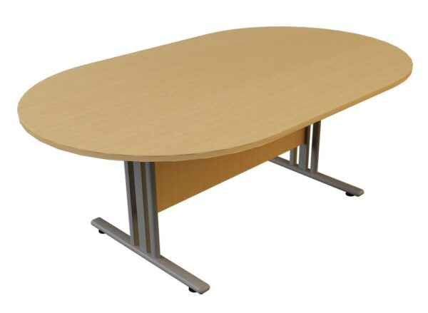 i frame d end meeting table