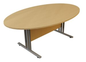 i frame Oval Meeting table