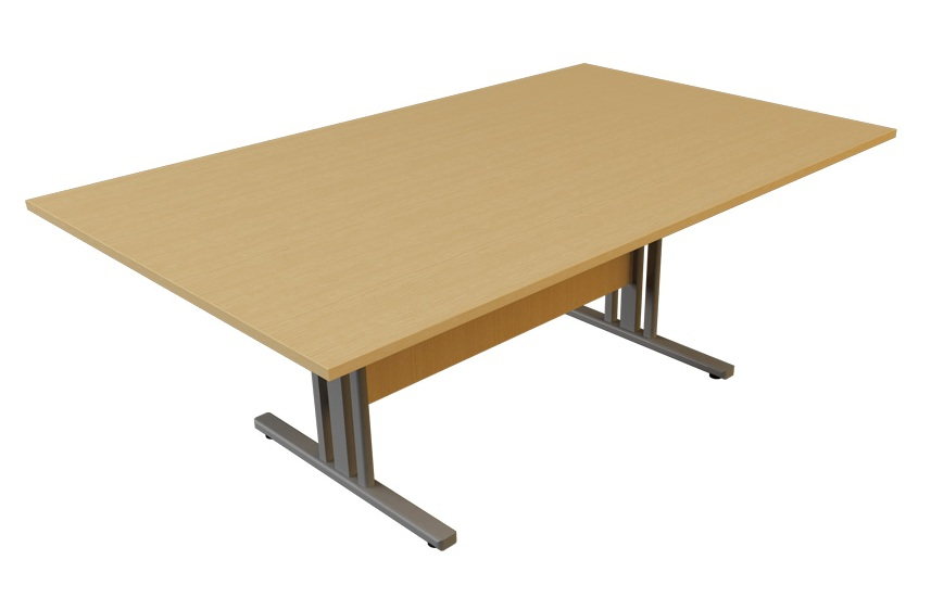 I frame rectangular meeting table