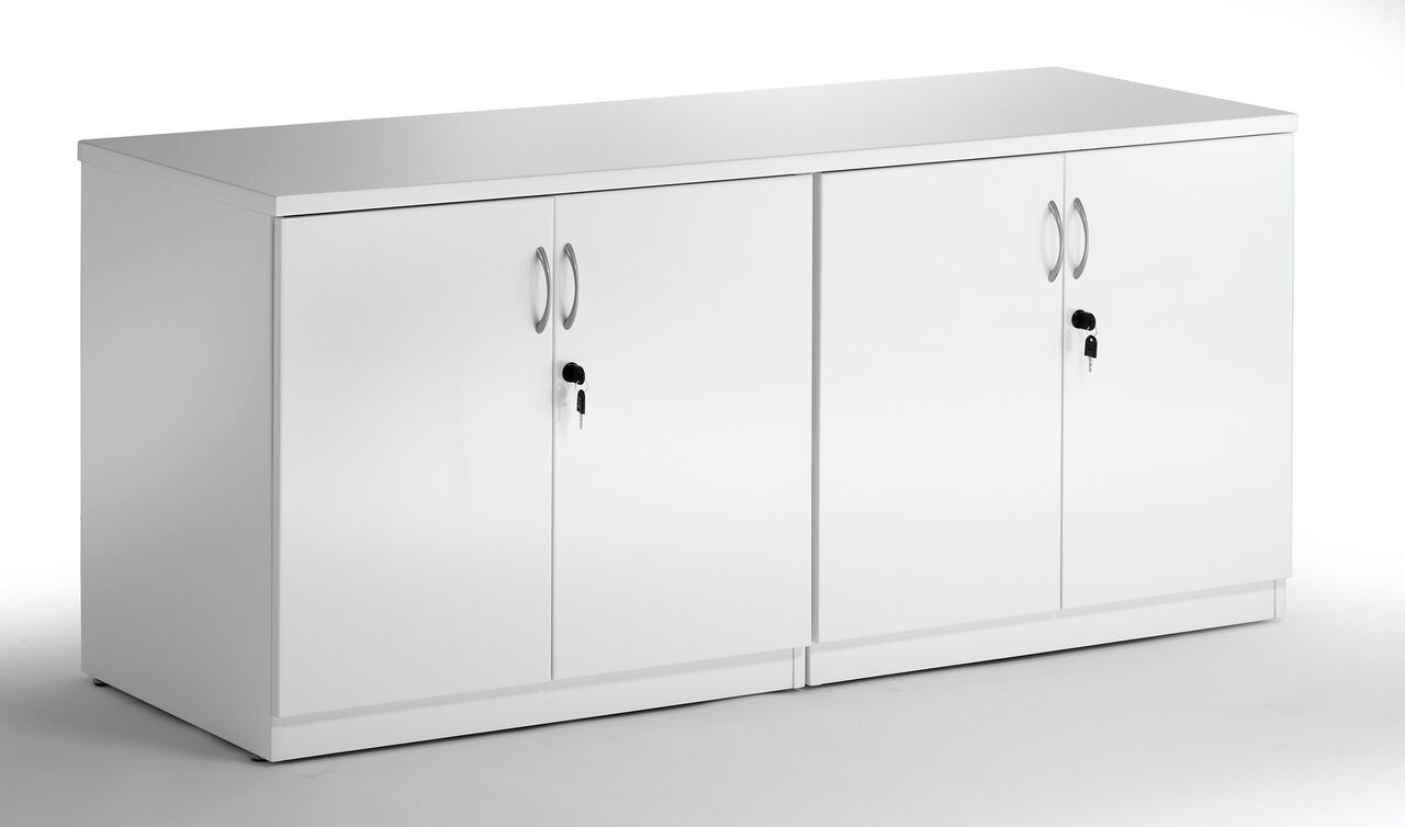 High Gloss White Credenza Somercotes Office Furniture Ltd