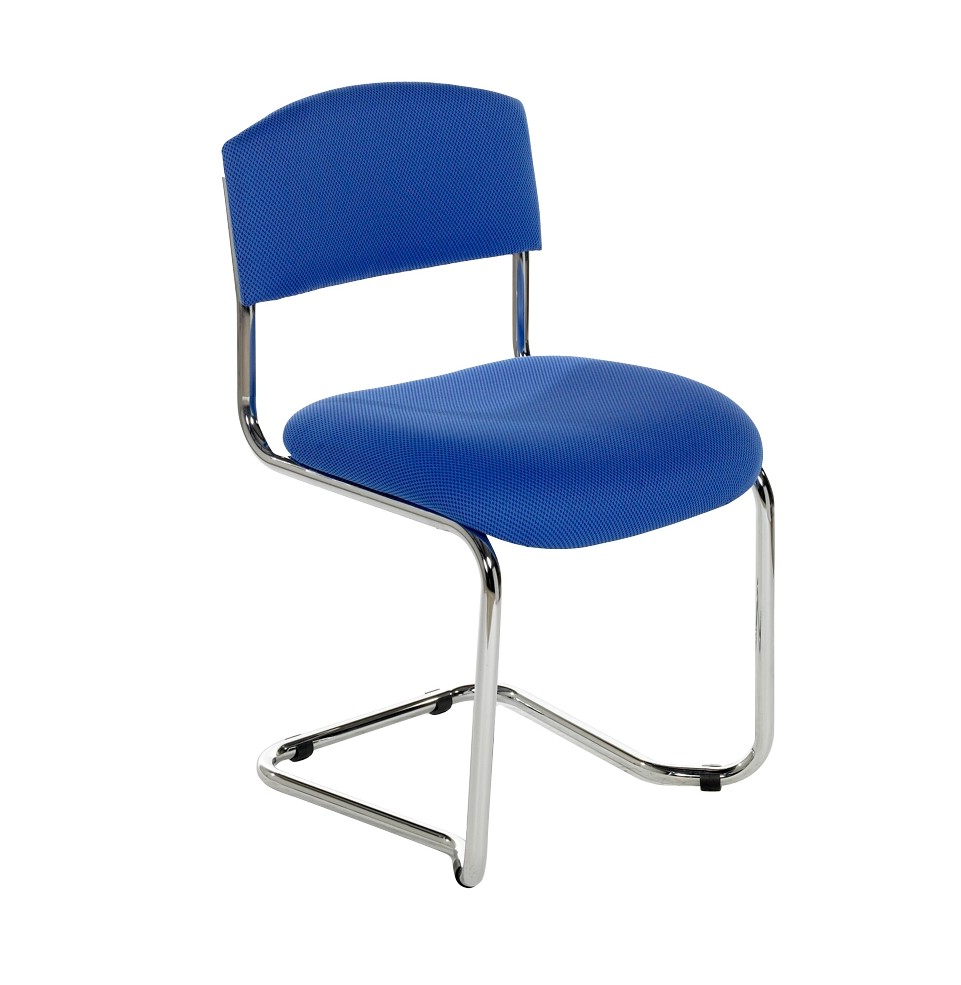 Chrome Cantilever Side Chair CS Somercotes Office Furniture Ltd