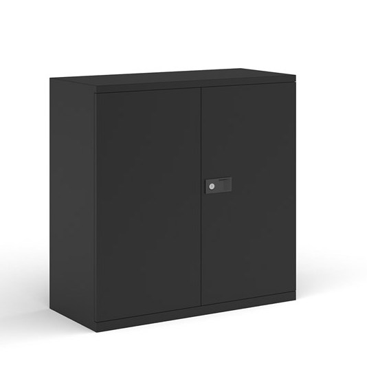 metal cupboard black