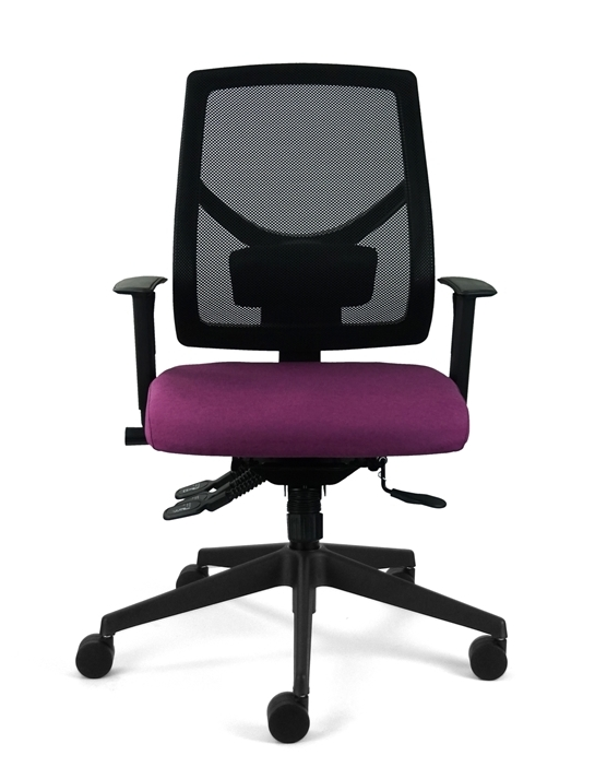 ME500 Operator Chair - front view