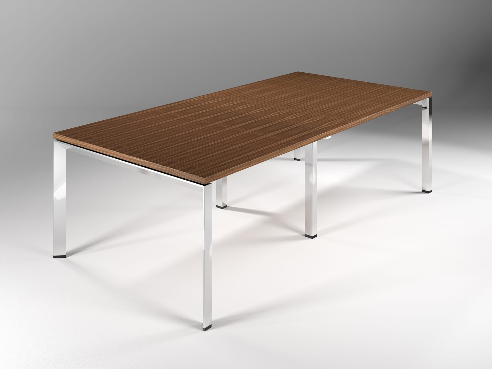 DAVOS CHROME – 2400 TABLE – VIEW 1