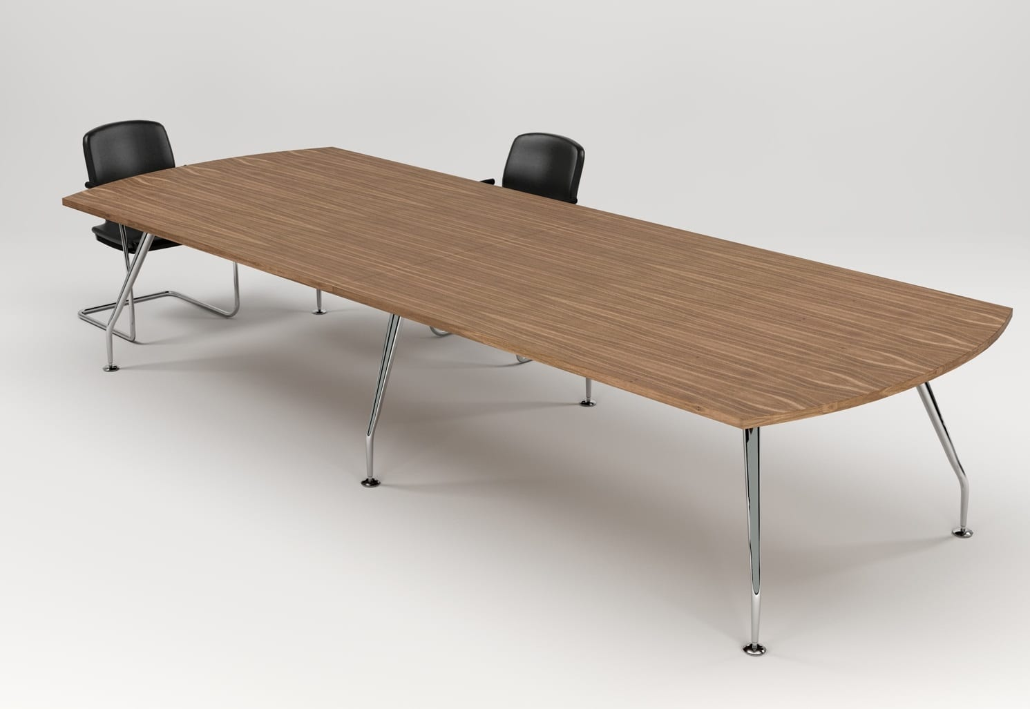 ZENITH FLAT D MEETING TABLE – VIEW 1