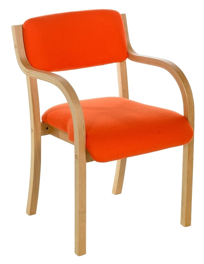 beech conference side chair with arms tyson somercotes office