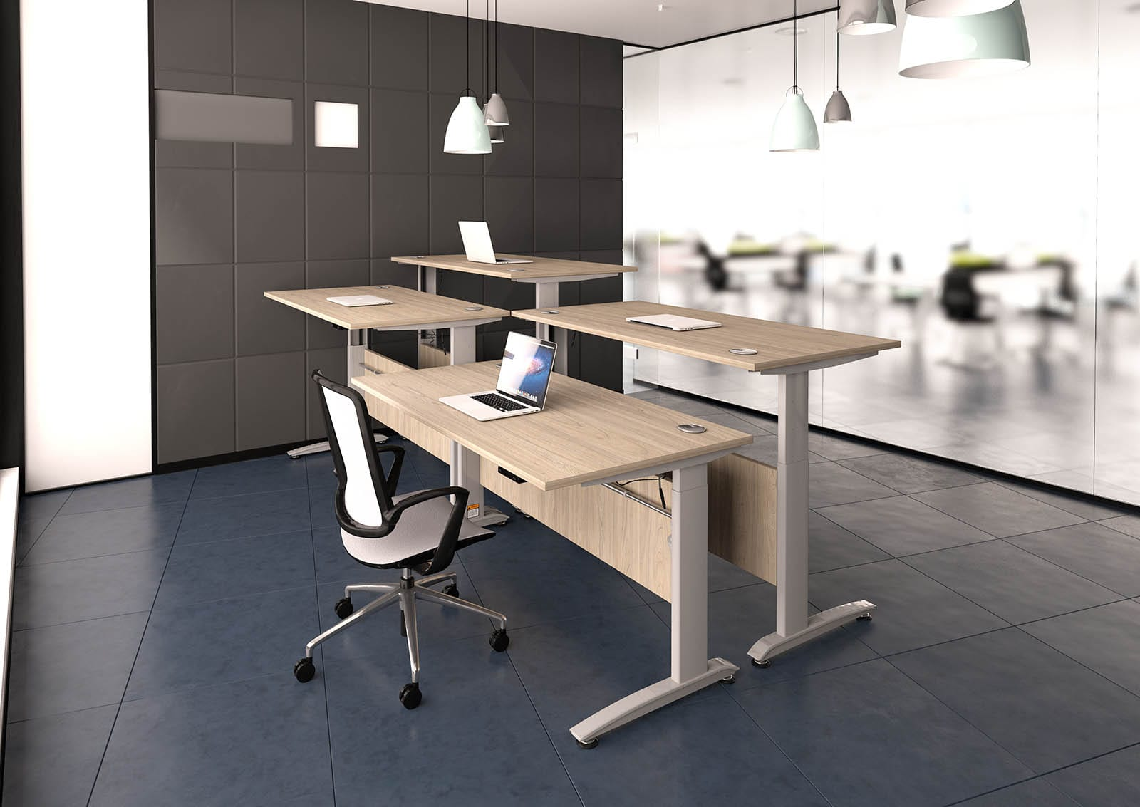 desk height costco adjustable desks surprising