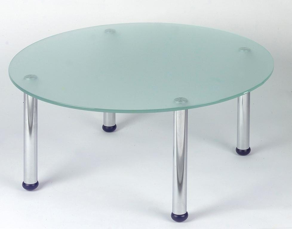 HS035 Glass Round Coffee Table
