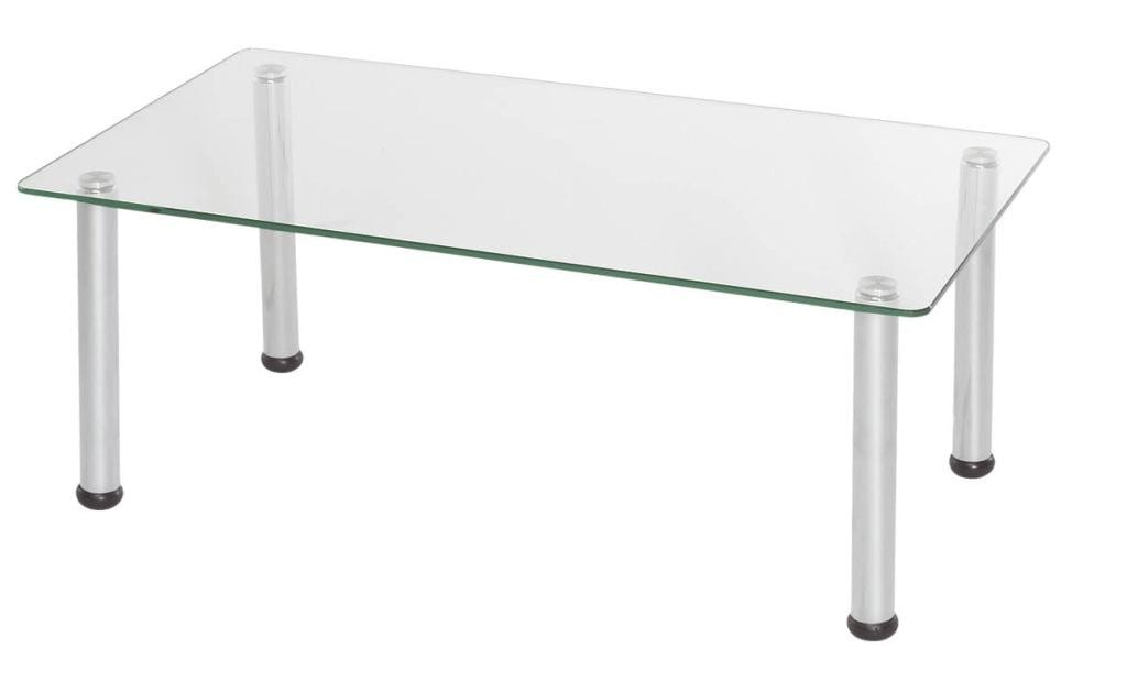 HS036 Glass Rect Coffee Table