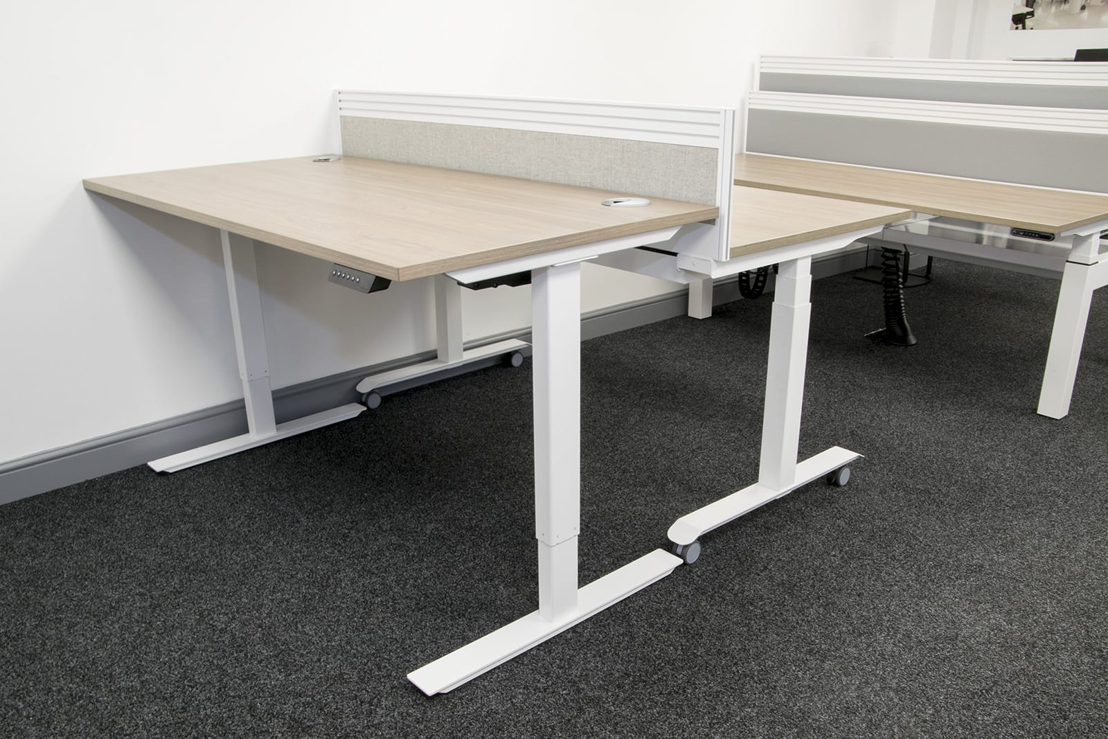 matrix officeworks adjustable height sumptuous manual desk design