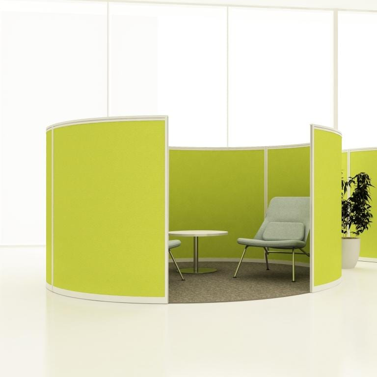 SYDNEY Curved Floor Standing Screens
