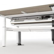 Gravity Double Under-Shot Open Cable Tray