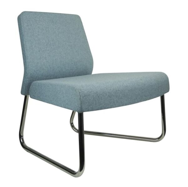 Trio reception chair - side view