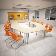 40mm Dia Table Meeting Room