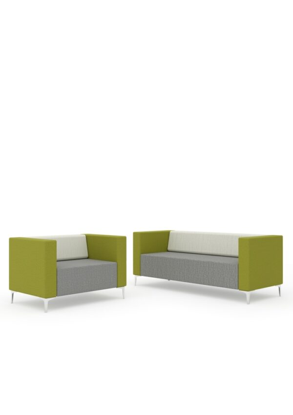 Evo modular sofa reception seating