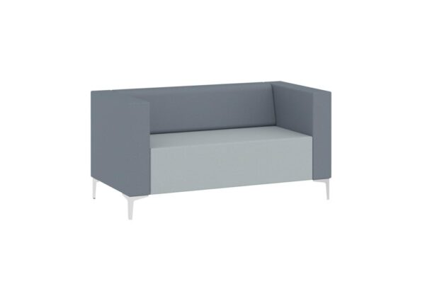 Evo two seater sofa reception seating