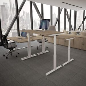 Aerial Hadj Standing Height desk roomshot