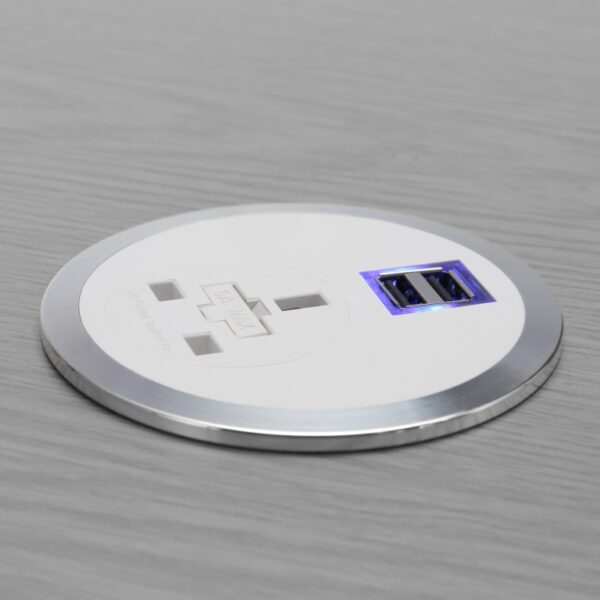 cable port power module with smart charge
