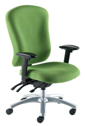 ZT3 Zircon chair in upholstered green