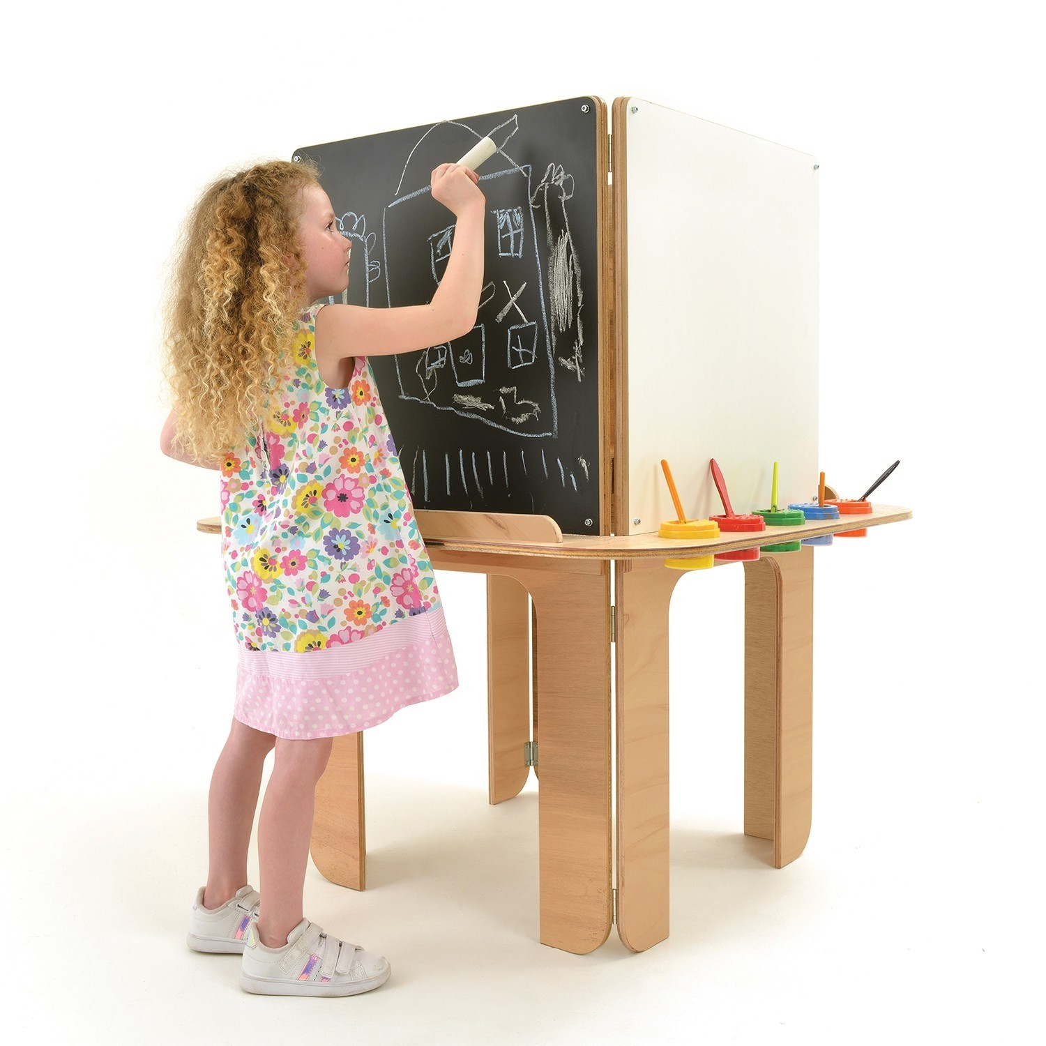 kids arts and craft 3 way easel