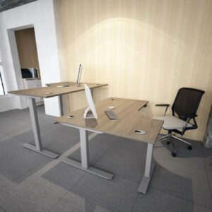 J shape volt height adjustable desk
