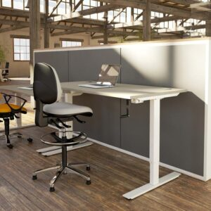 Volt Crank Height Adjustable Desk Roomshot