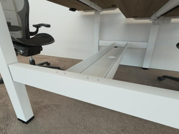 cable tray for the height adjustable double bench - volt