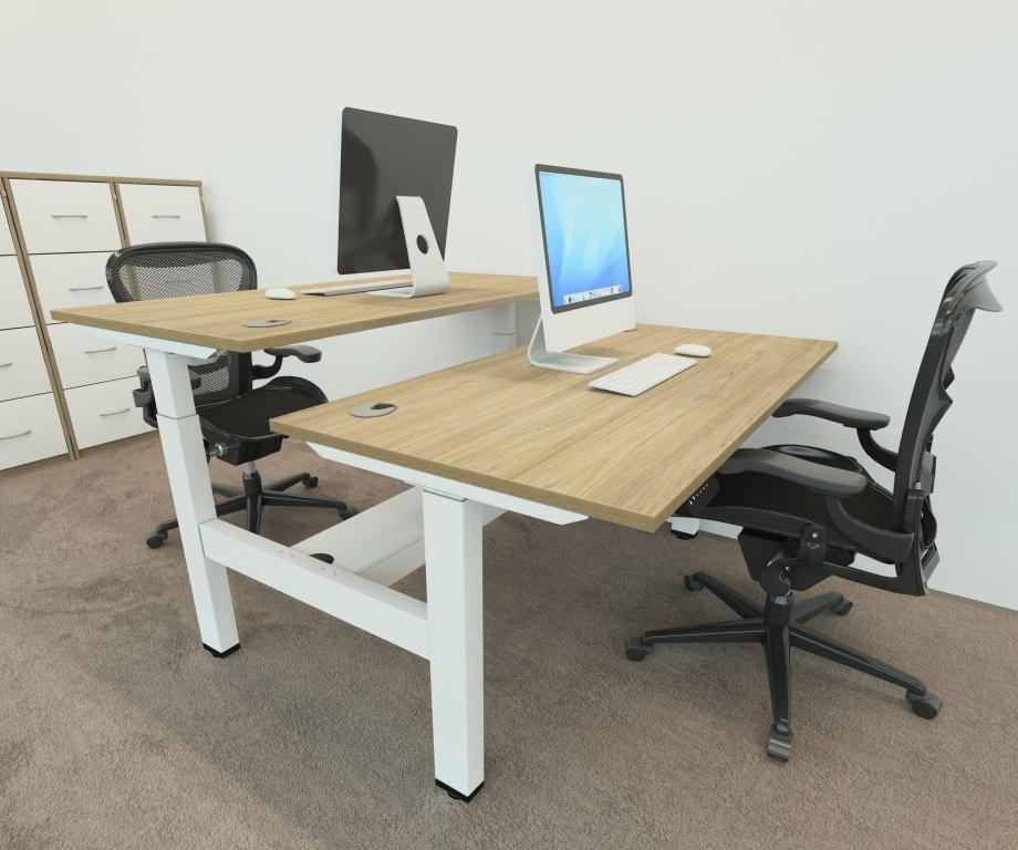 Volt Double bench height adjustable desk