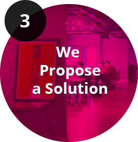 We propose a solution logo