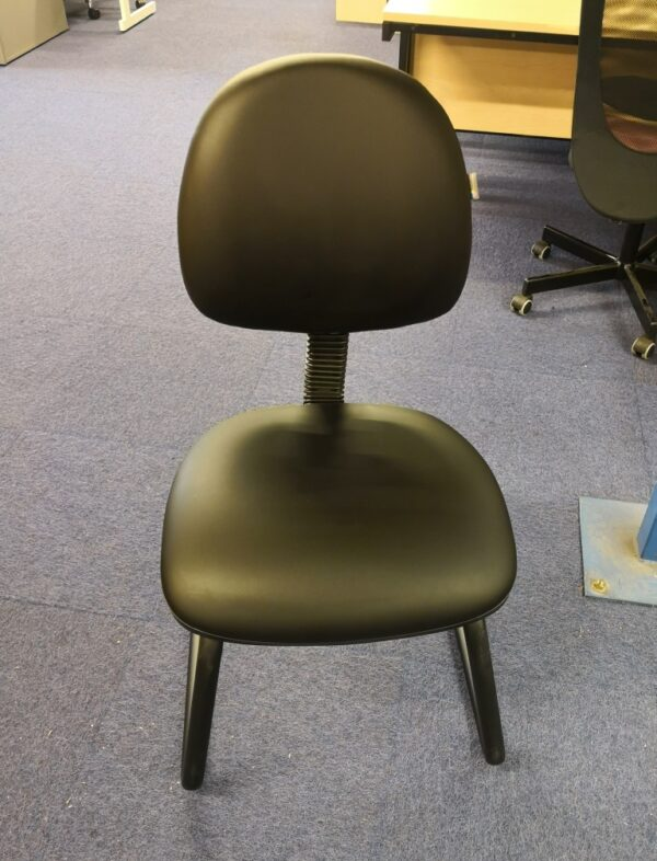 Vinyl cantilever meeting chair/ visitor chair