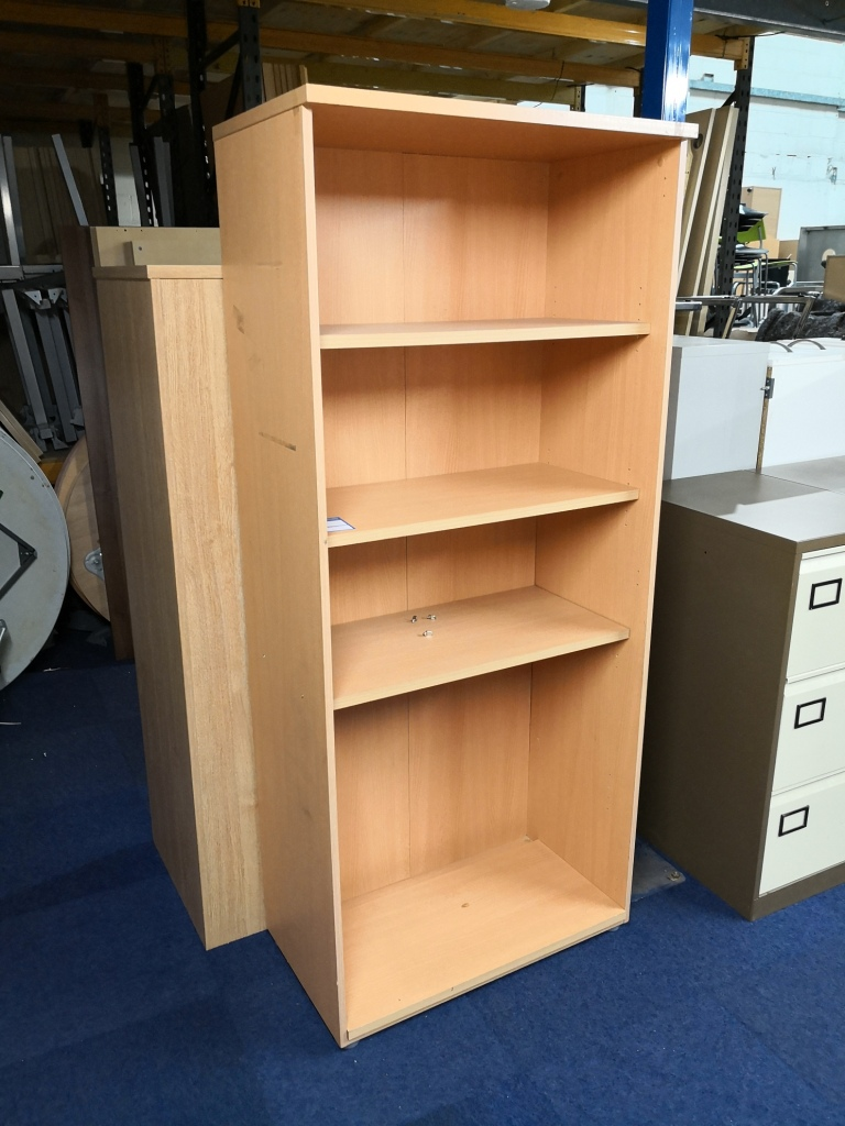 Beech Bookcase - used