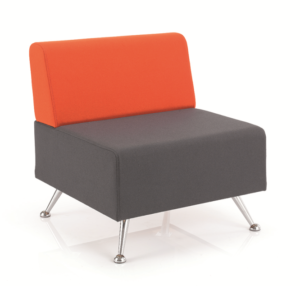 mosaic reception seating single seat with back