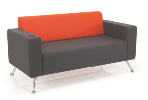mosaic reception seating two seater sofa two arms