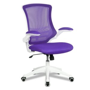 Apollo operator chair purple and white