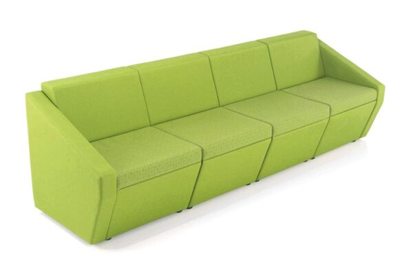 Fusion Reception seating 4 seater sofa