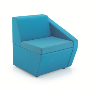 Fusion Reception seating single seat with one arm