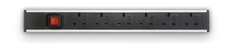 6 x UK Power + Switch (UPMA-6P1N)