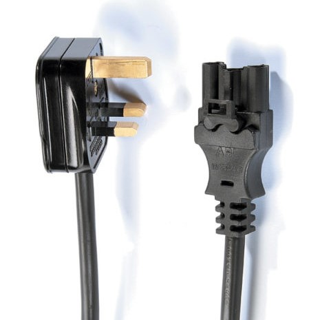 POWER CABLE – UK Plug to 3 pole female wieland connection