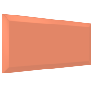 Rectangular acoustic panel