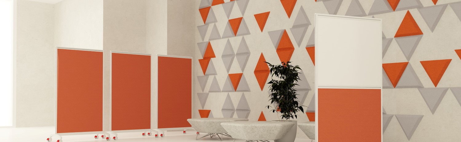 Acoustic wall panels wide roomshot