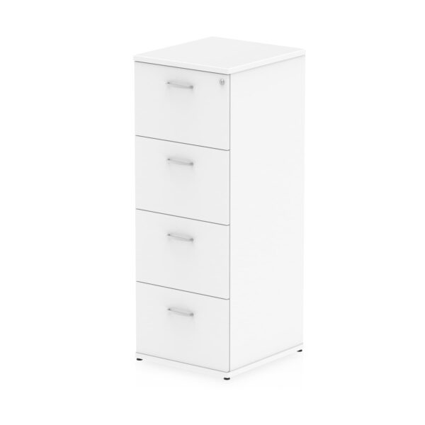 4 drawer Filing Cabinet in white