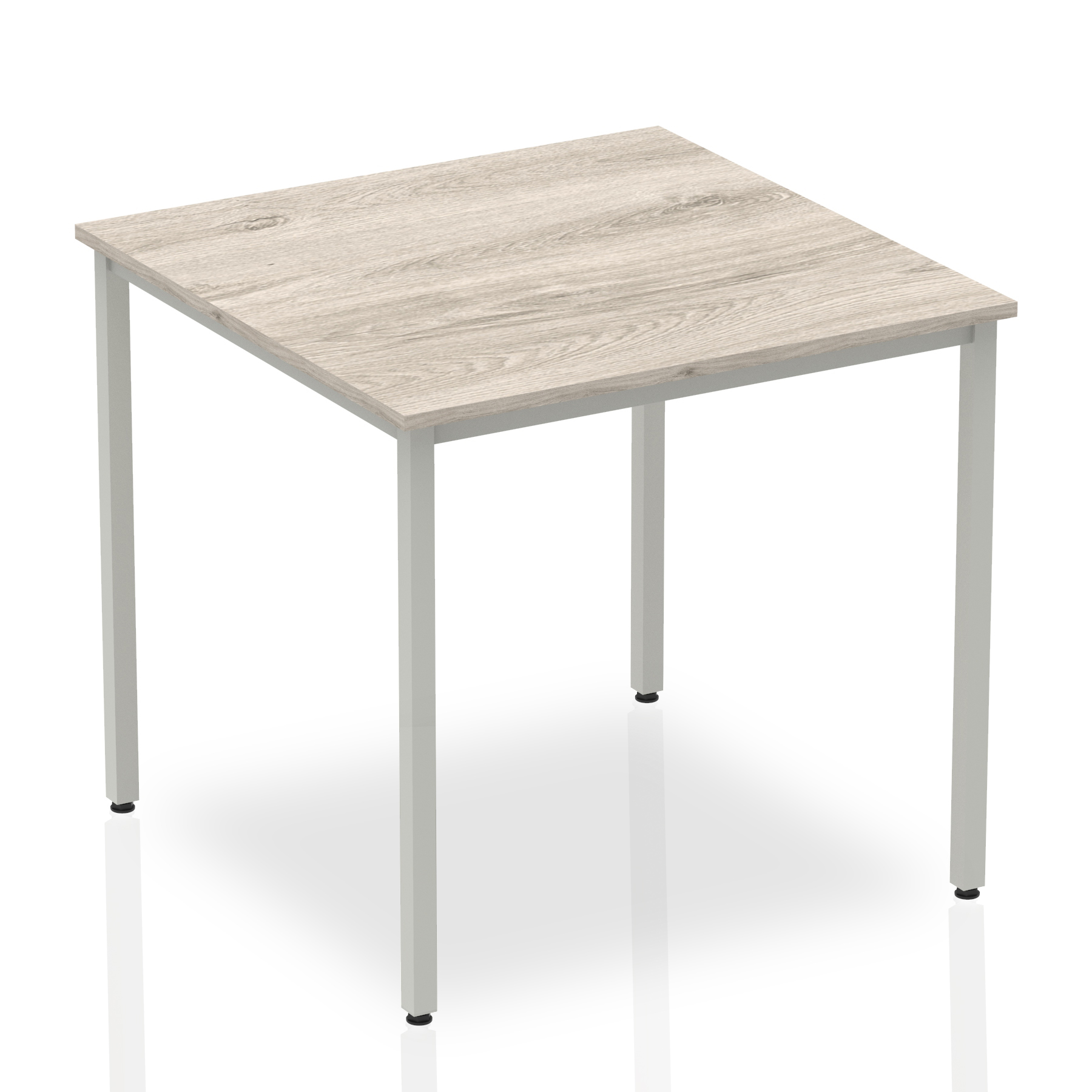 Grey Oak Square Box frame table