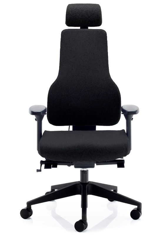 APEX with headrest in black