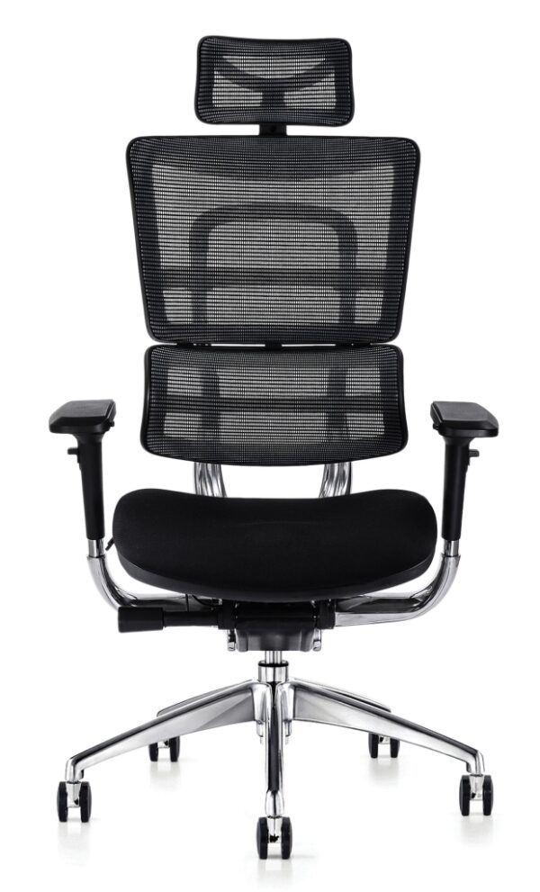 i29 fabric seat task chair with headrest